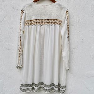 ... EMBROIDERED SMOCK DRESS BY KATE MOSS FOR TOPSHOP, Kate Moss for Topshop,  JEFFREY CAMPBELL ...